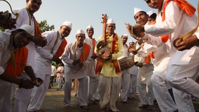 Procession of Varkari-Hindu Pilgrims