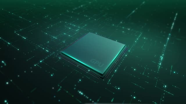 processor and circuit board technology background - machine learning stock videos & royalty-free footage