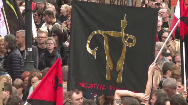 Prochoice groups protest against proposed legislation for a neartotal ban on abortion in Poland after lawmakers rejected a rival bid to liberalise...