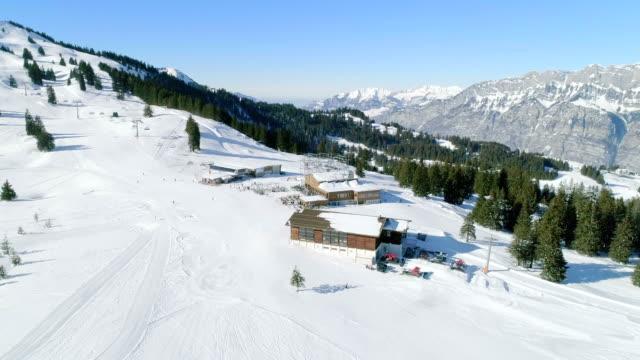 prodalp flumserberg ski resort switzerland - ski stock videos & royalty-free footage