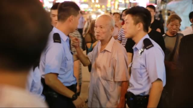 Prodemocracy protesters continue their demonstration in Hong Kong on October 14 2014 The protests followed a decision last month by China's top...