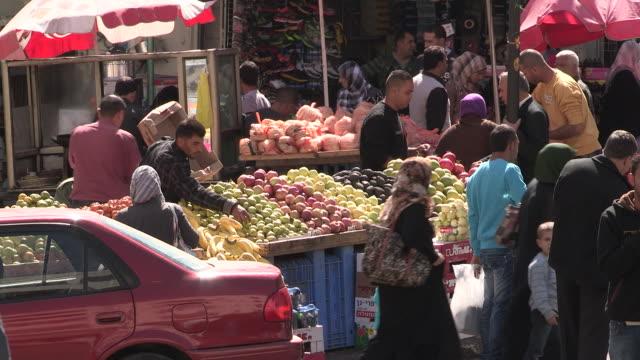 Produce Sales, Hebron, Palestine