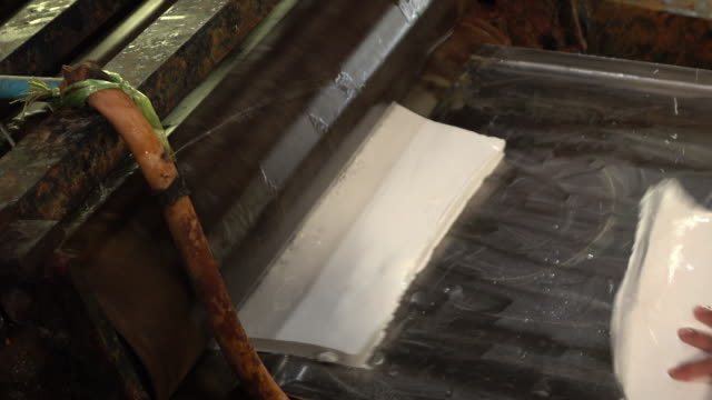 producing rubber sheet - rubber stock videos & royalty-free footage