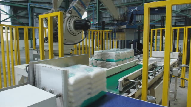production and packaging of sugar raw sugar inside the warehouse at msm sugar refinery sdn bhd in pasir gudang johor malaysia on friday august 21 2020 - johor stock videos & royalty-free footage