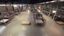 Production conveyor, conveyor line, conveyor belt, ceramic tile, modern production interior