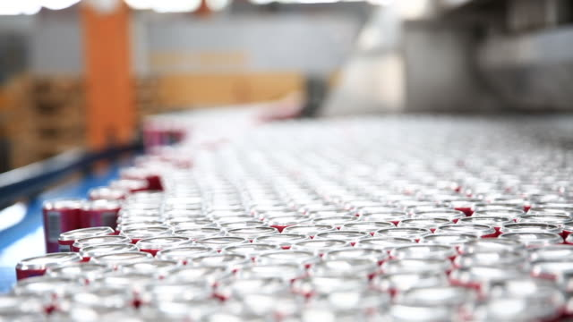 Production Line of Carbonated Drinks