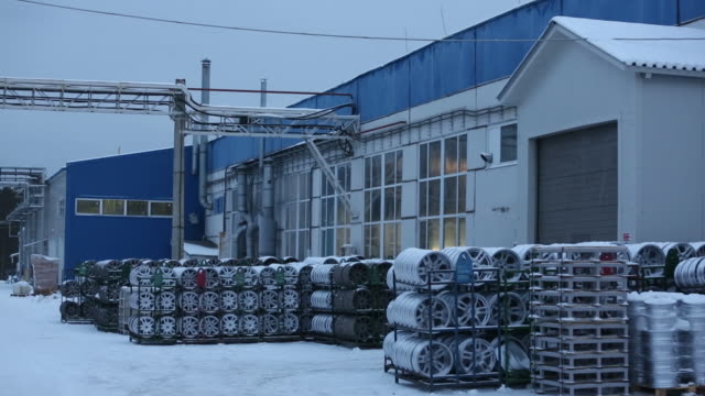 production of light alloy wheels at the skad casting and mechanical plant in divnogorsk russia on friday november 29 2019 skad is one of the leaders... - alloy stock videos & royalty-free footage