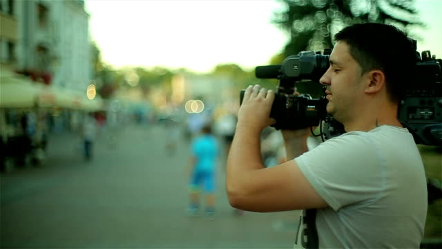 professional cameraman - documentary footage stock videos & royalty-free footage