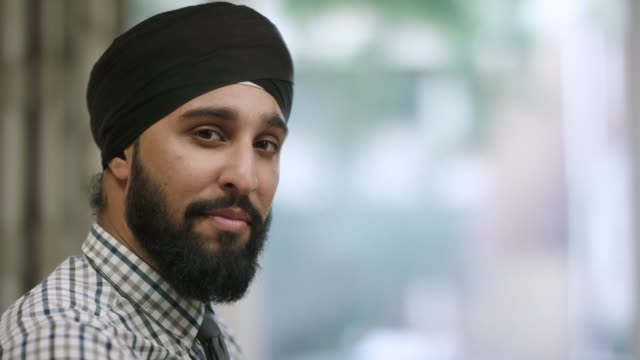professional indian therapist wearing turban - fatcamera stock videos and b-roll footage