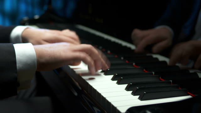 HD: Professional Pianist Playing The Piano