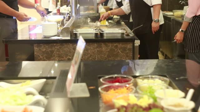 Professional restaurant or hotel kitchen