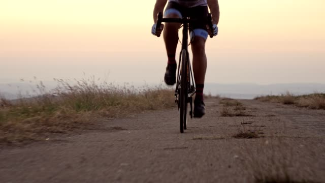 professional road cyclist - uphill stock videos & royalty-free footage