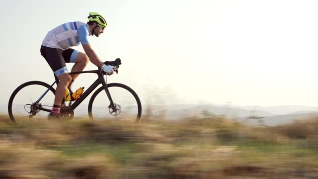 professional road cyclist - endurance stock videos & royalty-free footage