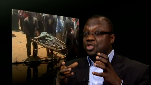 professor ademola interview sot what you have is no credible governance structure in the country now and the manifestation of that dysfunctional... - jos nigeria stock videos & royalty-free footage