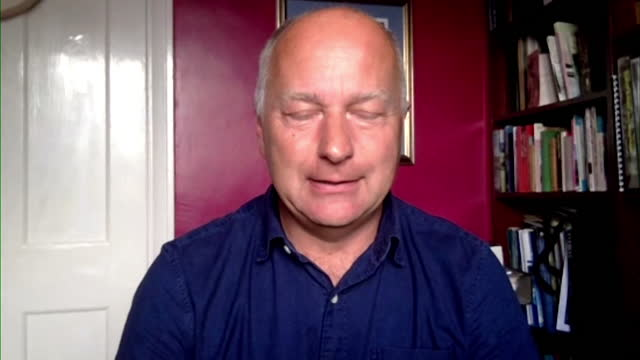 professor peter stott of the met office saying the heatwave in western north america could not occur naturally - direction stock videos & royalty-free footage