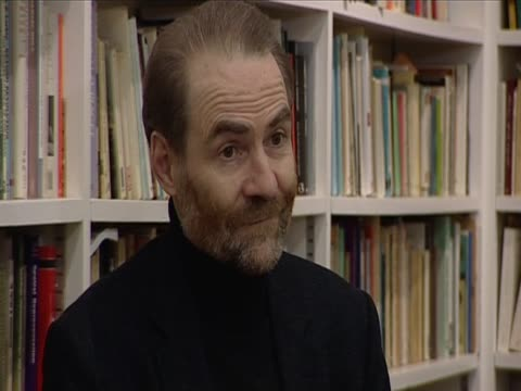 professor timothy garton ash on vaclav havel following the death of the former czech president - velvet revolution stock videos and b-roll footage