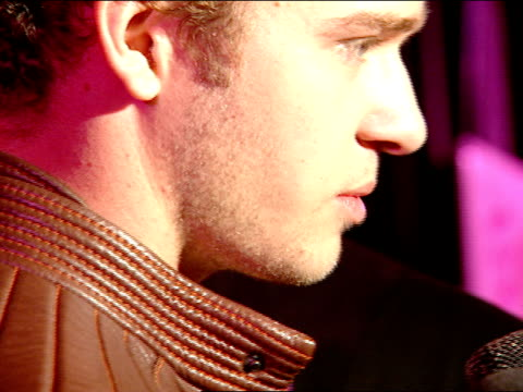 profile justin timberlake interviewing with correspondent at night club - justin timberlake stock videos & royalty-free footage