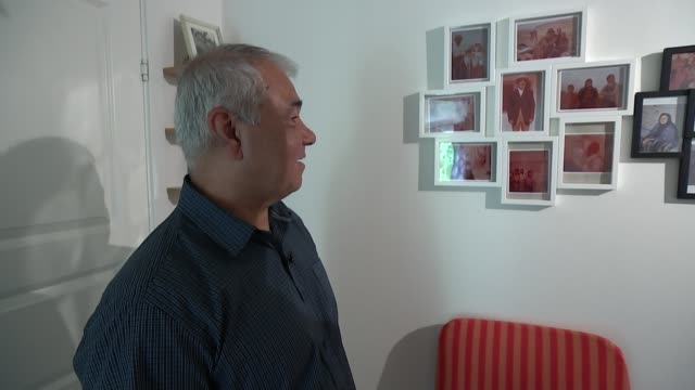 Profile of man who suffered thirteen years as a prisoner of war in Iraq SWEDEN Stockholm INT Husheng Nadi interview SOT