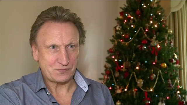 Profile of Queen's Park Rangers' manager Neil Warnock Warnock interview SOT [asked if he finds it emotional] Now and then Downton Abbey really got me...