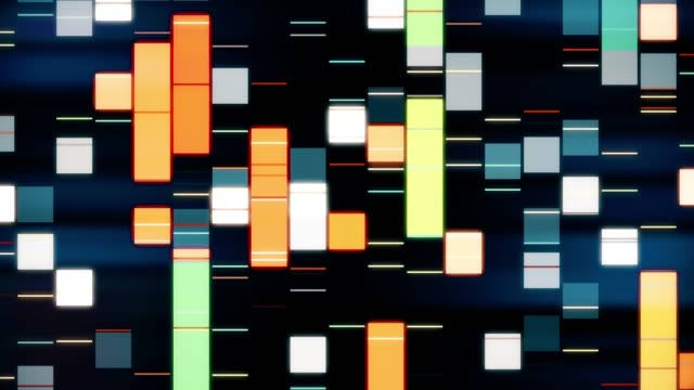 stockvideo's en b-roll-footage met dna-profielen - dna