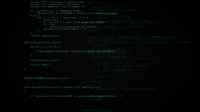 program code screen - hacker stock videos and b-roll footage