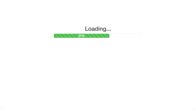 Progress Bar in a Web Application