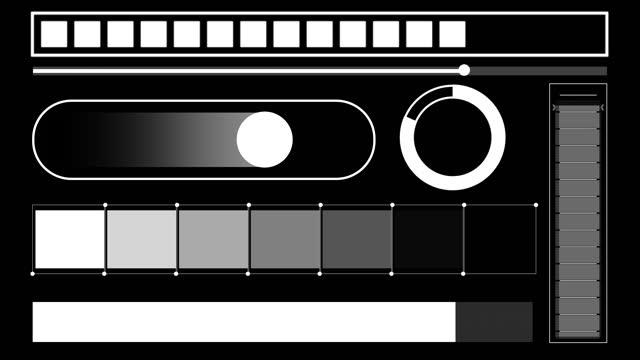 progress bars a - design element stock videos & royalty-free footage