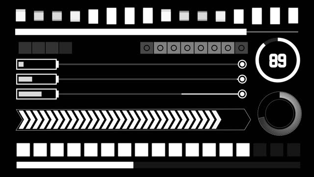 progress bars b - design element stock videos & royalty-free footage