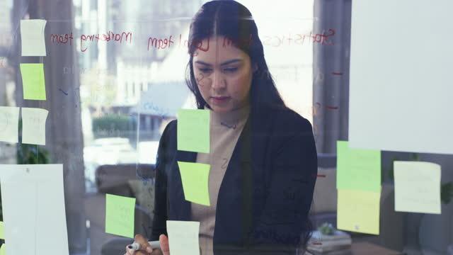 projektmanagement, das sicherstellt, dass sich alles wie geplant abspielt - clip stock-videos und b-roll-filmmaterial