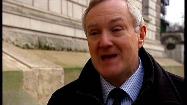 project merlin deal with banks announced by government liberal democrat spokesman sacked over comments london ext terry scuoler interview sot - spokesman stock videos and b-roll footage