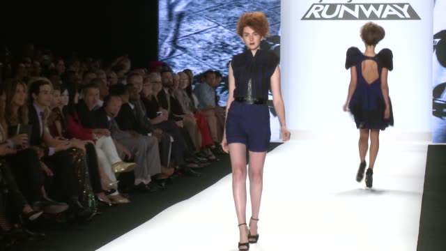 Project Runway Runway Spring 2014 MercedesBenz Fashion Week Project Runway Runway Spring 2014 at The Theatre at Lincoln Center on September 06 2013...