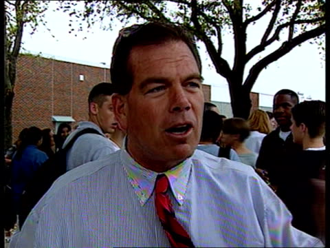 usa texas dallas flip benham intvw god is mighty / england has forgotten / he's alive in america campaigners at clinic door pan rl more at other door... - texas stock videos & royalty-free footage