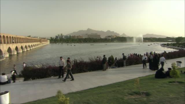 WS PAN Promenade and Si-o-Se Pol Bridge (Allah-Verdi Khan Bridge), Isfahan, Iran