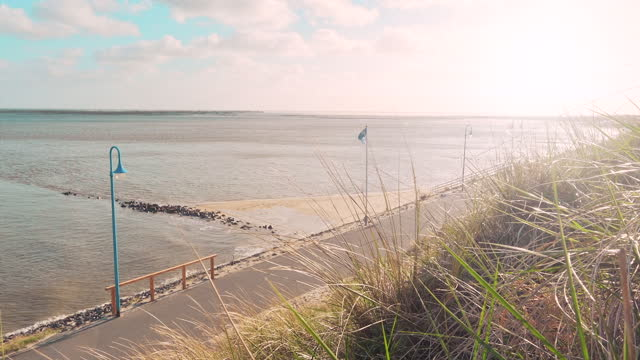 promenade at the sea - coastal feature stock videos & royalty-free footage
