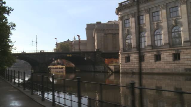 promenade at the spree river in Berlin