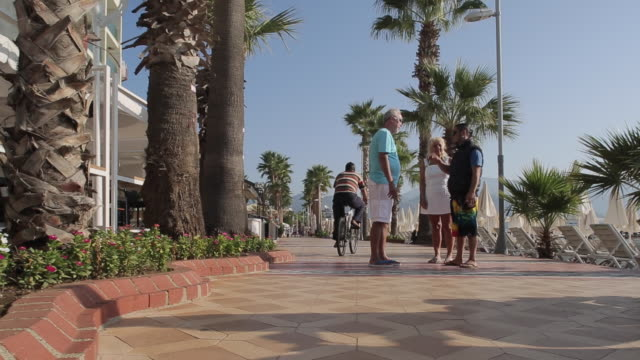 promenade, marmaris, anatolia, turkey - marmaris stock videos & royalty-free footage