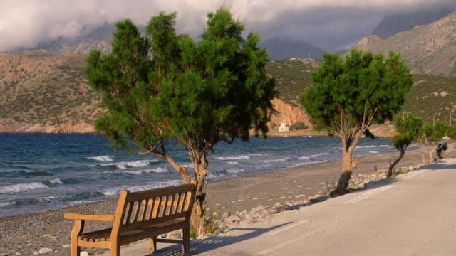 Promenade, Seat & Trees