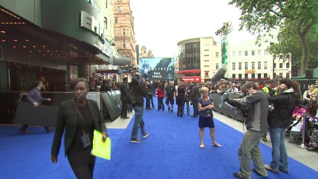 vídeos de stock, filmes e b-roll de prometheus world premiere at empire leicester square on may 31 2012 in london england - estreia de filme