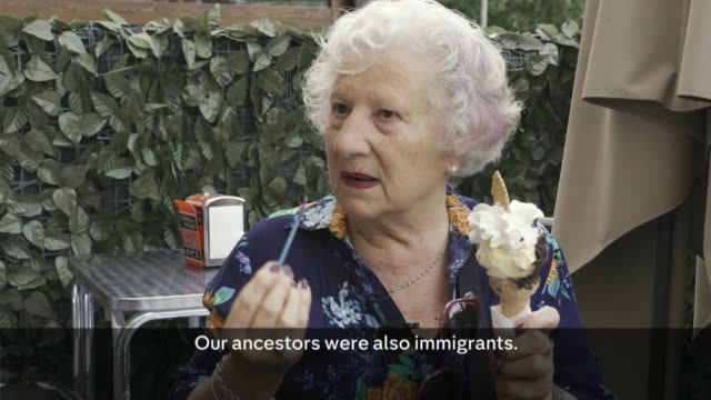 promigrant pope in conflict with antiimmigrant italian populists italy rome band performing at politics festival paolo lojudice interview tourists in... - ice cream bar stock videos and b-roll footage