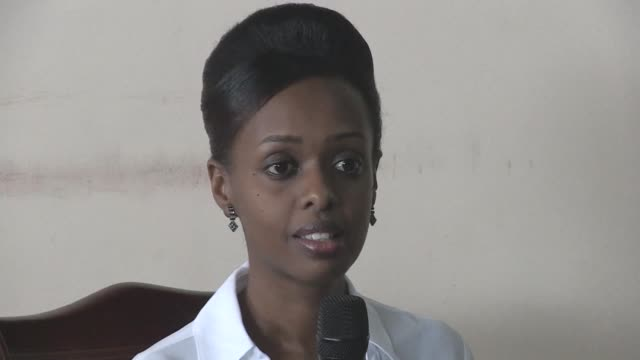 a prominent critic of president paul kagame has been charged with inciting insurrection against the state as well as other offences according to... - diane rwigara stock videos and b-roll footage
