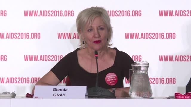 promising results from an earlystage hiv vaccine trial presented at the international aids conference in durban have paved the way for the first... - hiv aids conference stock videos & royalty-free footage