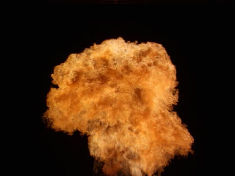 a propane mortar explodes. - fireball stock videos & royalty-free footage