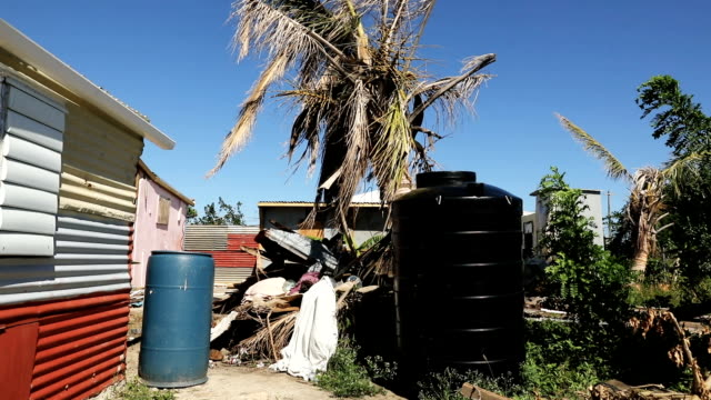 Properties and houses are left destroyed on island of Barbuda on December 8 2017 in Cordington Barbuda Barbuda which covers only 62 square miles was...