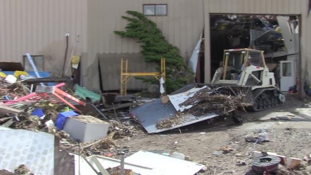 property damaged at tyndall air force base, florida in the wake of hurricane michael, florida. - militärstützpunkt stock-videos und b-roll-filmmaterial