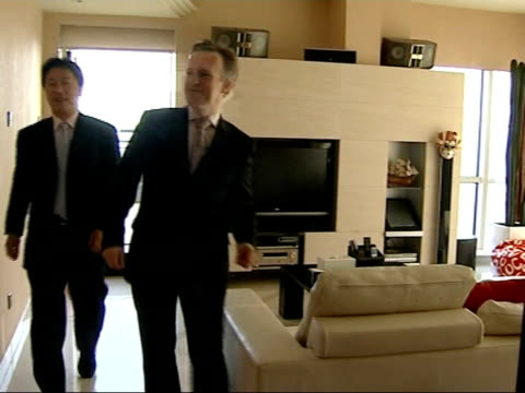 ray into luxury home with alan liu alan liu interview sot no matter what chinese communist party think if economy wants to keep going like this they... - communist party stock videos and b-roll footage