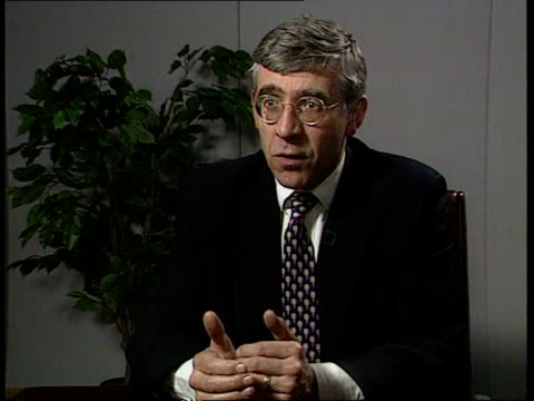 proportional representation commission itn home office jack straw mp intvw opportunity to give british people a chance to say what voting system they... - jack straw stock videos & royalty-free footage