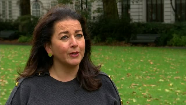 proposed westminster holocaust memorial 'a terror risk' planning inquiry told; england: london: westminster: ext helen monger interview sot black... - war and conflict stock videos & royalty-free footage