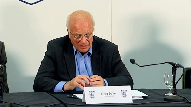 fa proposes restructuring of english football greg dyke press conference greg dyke press conference continued sot re premier league 'b' team... - greg dyke stock videos & royalty-free footage