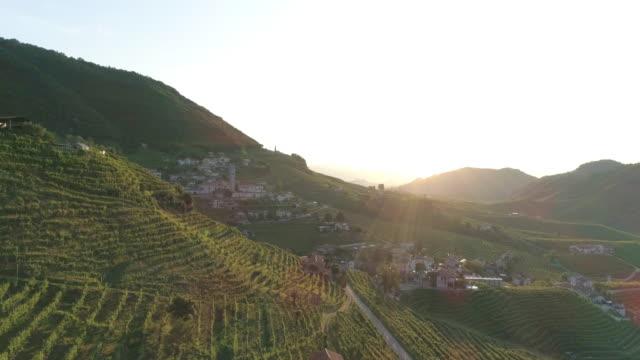 vídeos y material grabado en eventos de stock de colinas del prosecco - cultura mediterránea