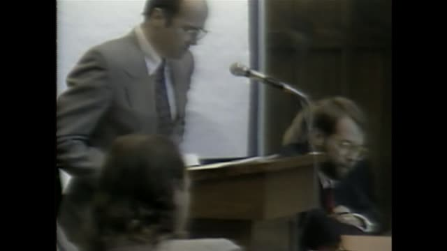 wjw prosecution and defense give closing arguments on aug 29 1990 in kirtland ohio - cult stock videos & royalty-free footage